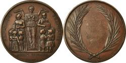 World Coins - France, Medal, Enseignement Primaire, Paris, 1871-1872, Farochon,