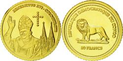 World Coins - Coin, CONGO, DEMOCRATIC REPUBLIC, 20 Francs, 2005, , Gold, KM:173
