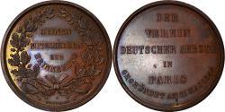 World Coins - Germany, Token, Der Verein Deutscher Aertze in Paris, Medicine, 1844