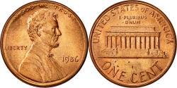 Us Coins - United States, Lincoln Cent, Cent, 1986, U.S. Mint, Philadelphia,