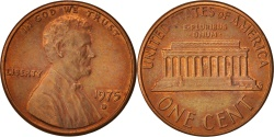 Us Coins - United States, Lincoln Cent, 1975, Denver, KM:201