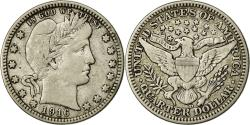 Us Coins - Coin, United States, Barber Quarter, 1916, Denver, , Silver