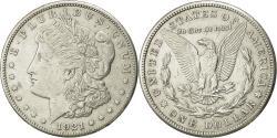Us Coins - United States, Morgan Dollar, 1921, San Francisco, AU(55-58), KM 110