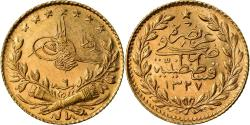Ancient Coins - Coin, Turkey, Muhammad V, 25 Kurush, 1914, Qustantiniyah, , Gold