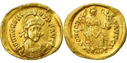 Coin, Honorius, Solidus, 403-408, Constantinople, , Gold, RIC:43