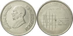 World Coins - Coin, Jordan, Hussein, 10 Piastres, 1996, , Nickel plated steel, KM:55