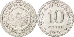 World Coins - Indonesia, 10 Rupiah, 1979, , Aluminum, KM:44