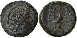 Ancient Coins - Coin, Seleukid Kingdom, Tryphon, Bronze Æ, 142-138 BC, Antioch,