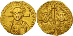 Justinianus II, Solidus, Constantinople, MS(60-62), Gold, Sear:1415