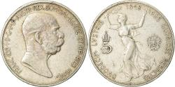 World Coins - AUSTRIA, 5 Corona, 1908, KM #2809, , Silver, 35, 24.04