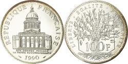 World Coins - Coin, France, Panthéon, 100 Francs, 1990, Paris, , Silver, KM:951.1