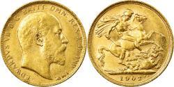 World Coins - Coin, Australia, Edward VII, Sovereign, 1902, Perth, , Gold, KM:15