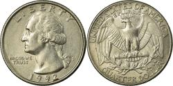 Us Coins - Coin, United States, Washington Quarter, Quarter, 1992, U.S. Mint, Denver