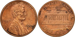 Us Coins - United States, Lincoln Cent, 1974, Philadelphia, , KM:201