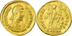 Coin, Honorius, Solidus, 395-402, Milan, , Gold, RIC:1206C
