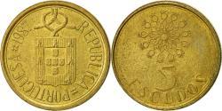 World Coins - Portugal, 5 Escudos, 1987, , Nickel-brass, KM:632