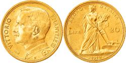 World Coins - Coin, Italy, Vittorio Emanuele III, 20 Lire, 1912, Rome, MS(63), Gold, KM:48