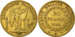 World Coins - Coin, France, Génie, 20 Francs, 1848, Paris, , Gold, KM:757