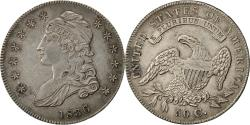 Us Coins - Coin, United States, Capped Bust, Half Dollar, 1836, U.S. Mint, Philadelphia