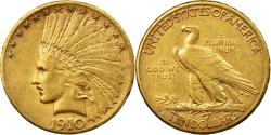 Us Coins - Coin, United States, Indian Head, $10, Eagle, 1910, U.S. Mint, San Francisco
