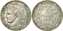 World Coins - Coin, France, Cérès, 5 Francs, 1849, Paris, , Silver, KM:761.1