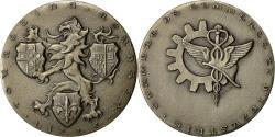 World Coins - France, Medal, Chambre de Commerce Lille-Roubaix-Tourcoing, Baron, MS(60-62)
