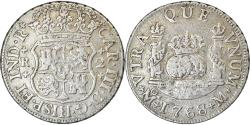 World Coins - Coin, Mexico, Charles III, 2 Reales, 1768, Mexico City, , Silver, KM:87