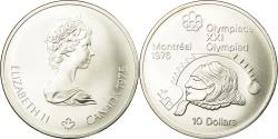 World Coins - Coin, Canada, Elizabeth II, 10 Dollars, 1975, Royal Canadian Mint, Ottawa, MS 63