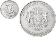 World Coins - Coin, Gabon, Lion, 1000 Francs CFA, 1 Silver Oz, 2013, , Silver