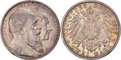 World Coins - Coin, German States, BADEN, Friedrich I, 2 Mark, 1906, , Silver, KM:276