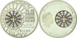 World Coins - Coin, Cook Islands, Notre-Dame de Paris, 10 Dollars, 2013, , Silver
