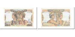World Coins - France, 5000 Francs, Terre et Mer, 1952, 1952-02-07, VF(30-35), Fayette:48.6