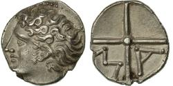 Ancient Coins - Coin, Massalia, Obol, Marseille, MS(63), Silver, SNG Cop:723-8