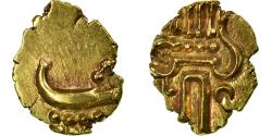 Ancient Coins - Coin, INDIA-PRINCELY STATES, COCHIN, Fanam, 1795-1850, , Gold, KM:10
