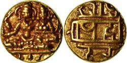 Ancient Coins - Coin, India, Vijayanagar Kingdom, Hari Hara II, 1/2 Pagoda, , Gold