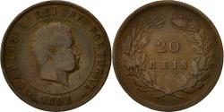World Coins - Coin, Portugal, Carlos I, 20 Reis, 1891, Lisbon, , Bronze, KM:533