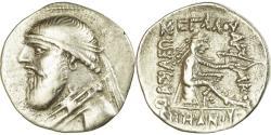 Ancient Coins - Coin, Parthia (Kingdom of), Mithradates II, Drachm, 119-109 BC, Ekbatana