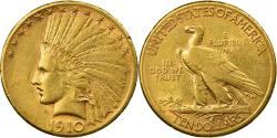 Us Coins - Coin, United States, Indian Head, $10, Eagle, 1910, San Francisco,