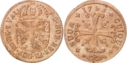 World Coins - SWISS CANTONS, 1/2 Batzen, 1793, Neuenburg, KM #47, EF(40-45), Billon, 1.70