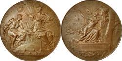World Coins - France, Medal, Corps du Tonkin, Exposition Universelle de Paris, 1889, Bottée