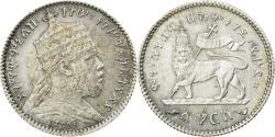World Coins - Coin, Ethiopia, Menelik II, Gersh, 1903 (EE 1895), Paris, , Silver, KM:12