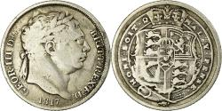 World Coins - Coin, Great Britain, George III, 6 Pence, 1817, , Silver, KM:665