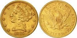 Us Coins - Coin, United States, Coronet Head, $5,1881, Philadelphia,, Gold, KM 101