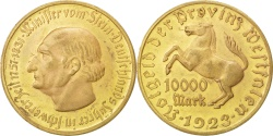 World Coins - Germany, 10 000 Mark, 1923, , Bronze-Aluminium, 31.60