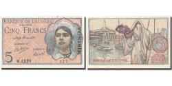 World Coins - Banknote, Tunisia, 5 Francs, 1944, 1944-10-02, KM:16, UNC(60-62)