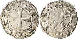World Coins - Coin, France, Languedoc, Denarius, 1240-1260, Cahors, , Silver