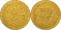 World Coins - Belgium, Token, Touristic token, Isca, 50 Iscanier, 1982,