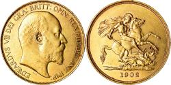 World Coins - Coin, Great Britain, Edward VII, 5 Pounds, 1902, , Gold, KM:807