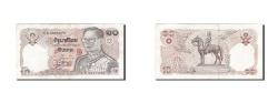 World Coins - Thailand, 10 Baht, 1980, KM #87, EF(40-45), 8 A 4590373