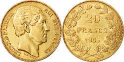 World Coins - Coin, Belgium, Leopold I, 20 Francs, 20 Frank, 1865, , Gold, KM:23